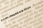 #77234167  Dictionary definition of word communication © aga7ta - Fotolia